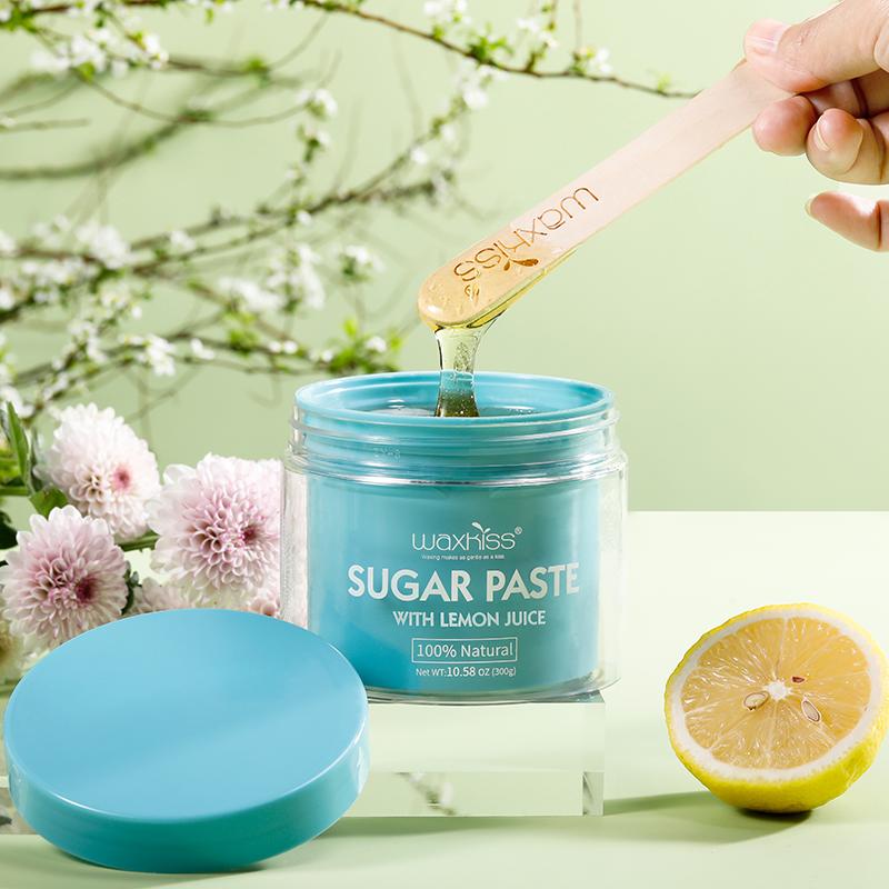 Сахарная паста с натуральным лимонным соком 300 г Для разогравания в микроволновой печи